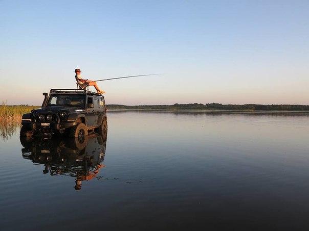самые лучшие внедорожники для рыбалки и охоты